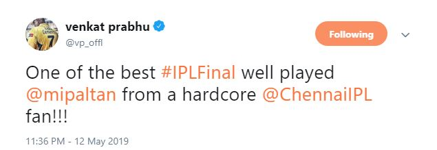 Chennai Super Kings Mumbai Indians IPL Final 2019