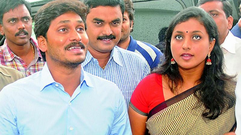 YSR Jagan Actress Roja Lok Sabha Elections 2019 results