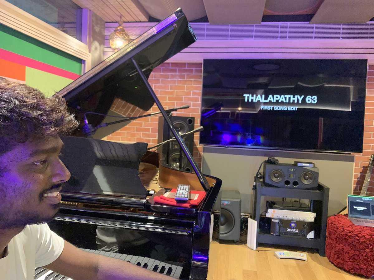 AR Rahman Thalapathy 63 Songs Vijay Atlee