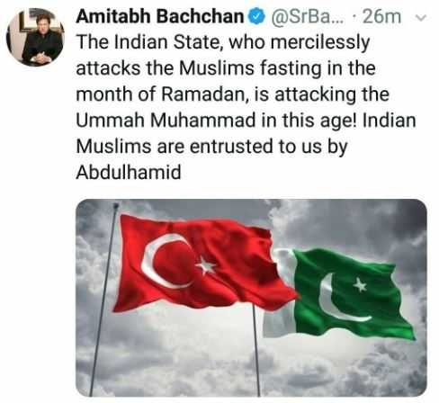 Amitabh Bachchan Twitter account hacked