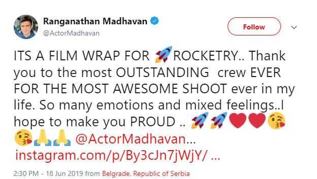 Madhavan Simran Rocketry