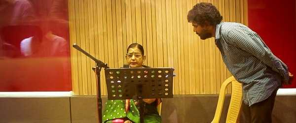 Amala Paul Aadai P Susheela devotional song