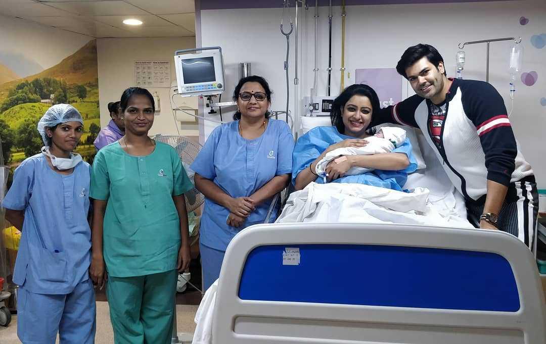 Ganesh Venkataraman Nisha Krishnan daughter Samaira Ganesh