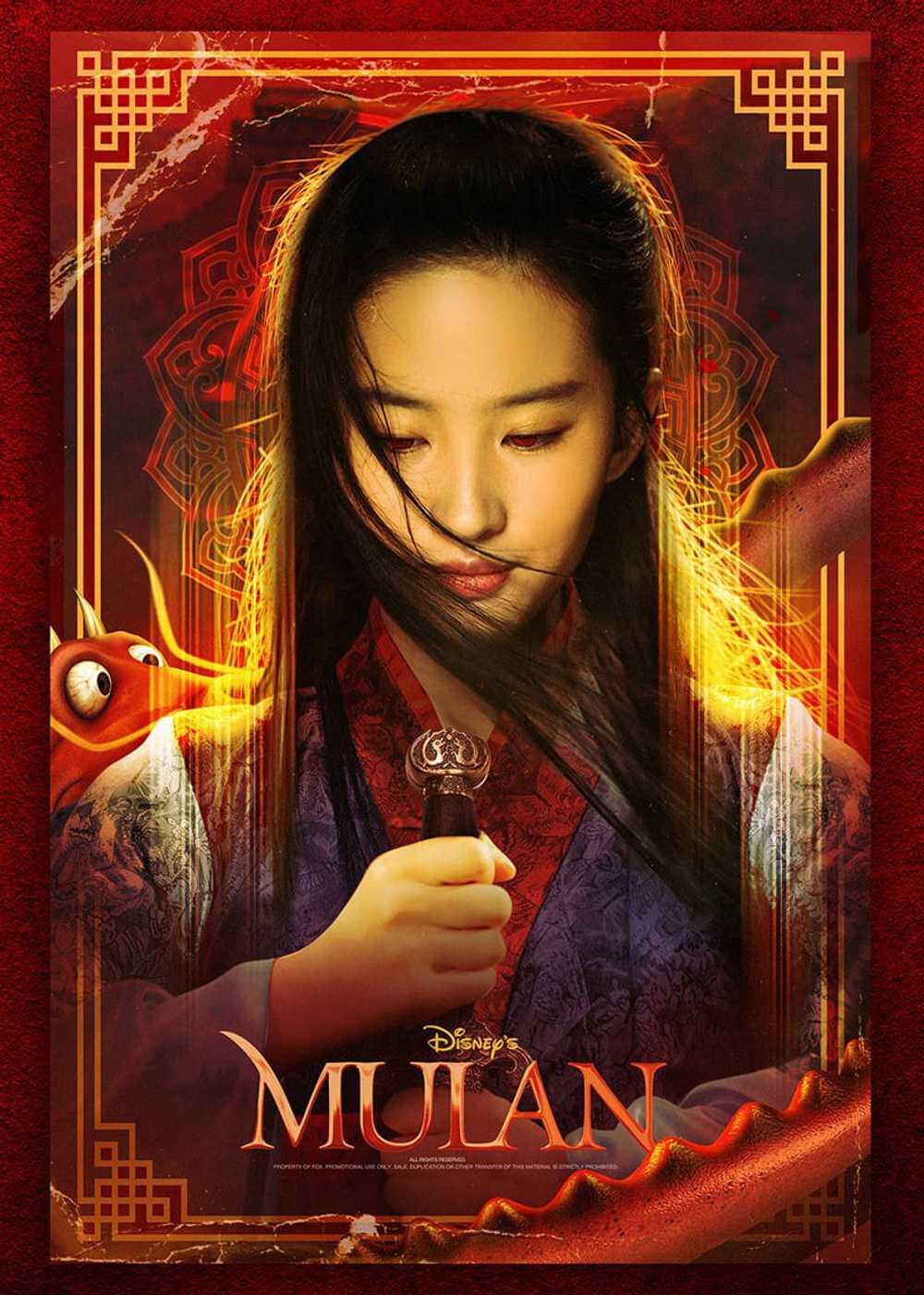 Mulan 2020 movie still