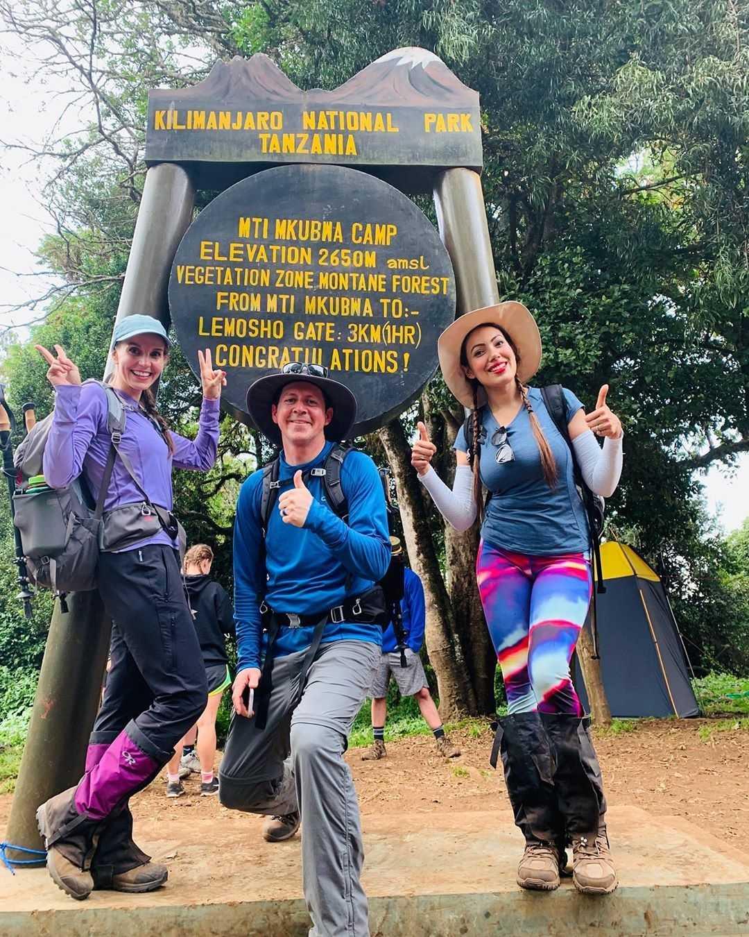 Munmun Dutta expedition still