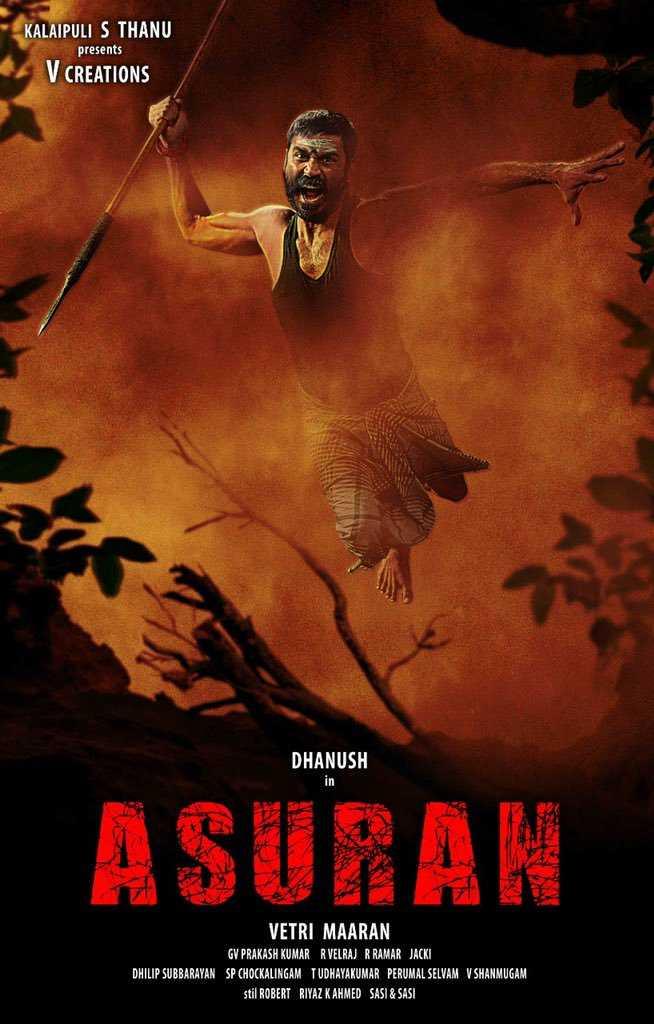 Dhanush asuran still
