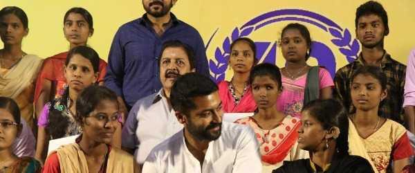 Suriya emotional speech NEET exams Agaram Foundation