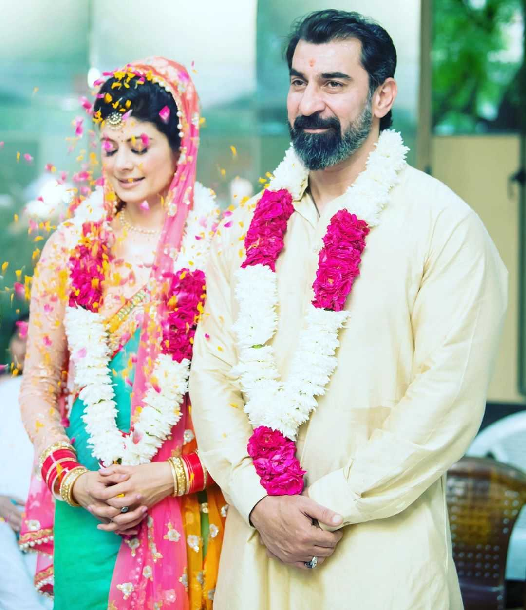 Pooja Batra Nawab Shah wedding pictures