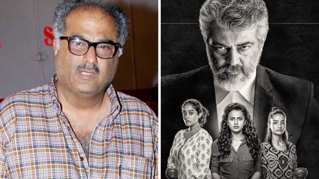 Boney Kapoor and Ajith Kumar