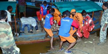 boat accident in Andhra Pradesh