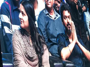 Sangeetha Vijay at Bigil Audio Launch
