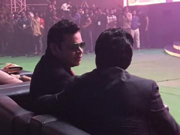 AR Rahman Thalapathy Vijay at Bigil audio launch