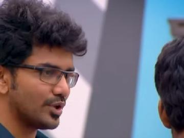 Kavin wants to leave Sandy cries <a href='/wikipages/bigg-boss-tamil/' target='_blank'>Bigg Boss Tamil</a> Season 3 September 26