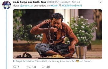 Kaithi trailer <a href='/wikipages/karthi/' target='_blank'>Karthi</a> new movie