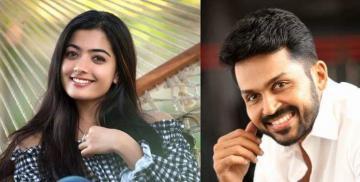 Karthi 19 movie Sulthan Tamil movie release date Karthi Rashmika Mandanna