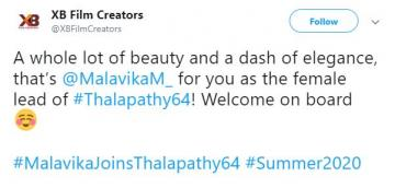 Thalapathy 64 cast
