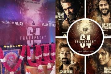 Thalapathy 64 First Schedule To End Soon Vijay