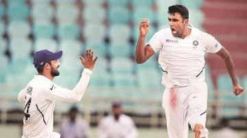 Ashwin Test record