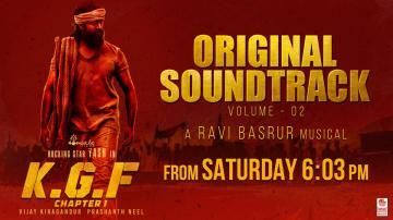 KGF Chapter Original Soundtrack volume 2
