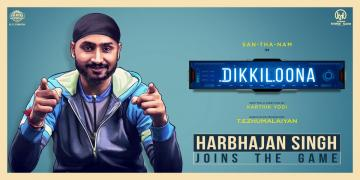 Santhanam new movie Dikkiloona Harbhajan Singh