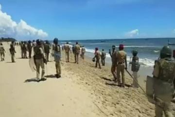 fishermen policemen shootout