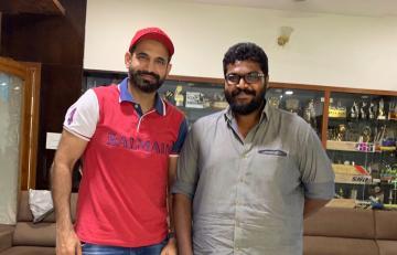 Vikram new movie Chiyaan 58 director Ajay Gnanamuthu Irfan Pathan