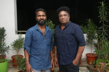 Director Vetrimaaran and producer Elred Kumar RS Infotainment
