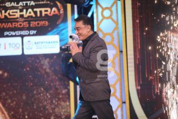 Kamal Haasan In Galatta Nakshatra Awards