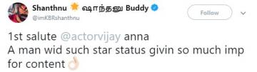 Vijay Thalapathy 64 Shanthanu Bhagyaraj Bigil Atlee