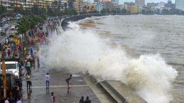 Chennai sea water level rise