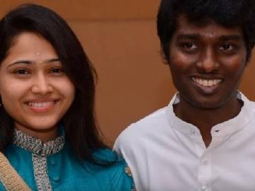 Atlee posts wedding anniversary wishes for Priya on Twitter