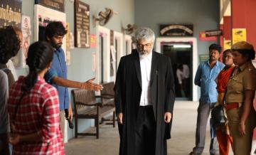 Valimai Tamil movie Ajith and director H Vinoth Nerkonda Paarvai