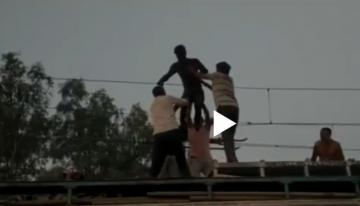 Madhya Pradesh youth High voltage drama