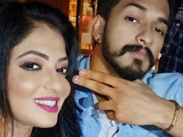 Kavin and Losliya unite at Bigg Boss success party