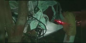 Rajasthan bus Accident 11 killed