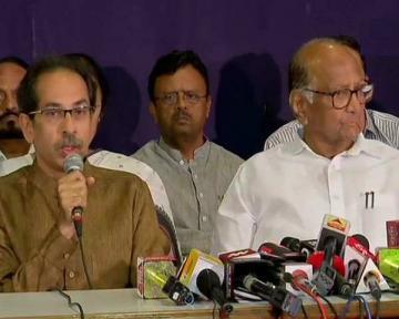 ShivSena Uddhav Thackeray challenges BJP Mahrashtra