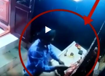 Telangana youth apologizes to amman idol after stealing crown