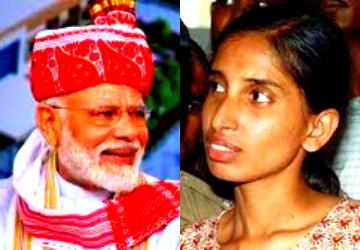 Nalini wrote letter to PM Modi