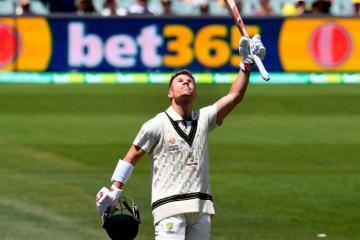 David Warner triple century record australia cricket team