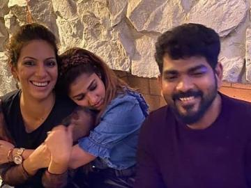 Nayanthara and Vignesh Shivn celebrate Thanksgiving in USA viral photos