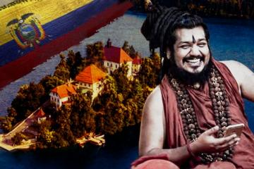 Gujarat Police Issue Blue Corner Notice  for Nithyananda