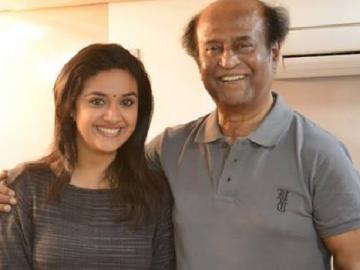 Keerthy Suresh becomes latest addition to Superstar Rajinikanth Thalaivar 168