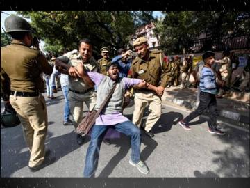 Jamia  protests college students ask for help New Delhi