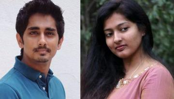 Actor Siddharth against Comment for Gayathri Raguram