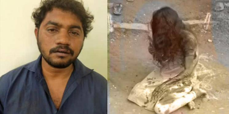Tamil Nadu man murder attempt on wife with beer bottle in Chennai