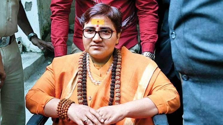 BJP MP Pragya Thakur  viral video getting shouted at airport authorities