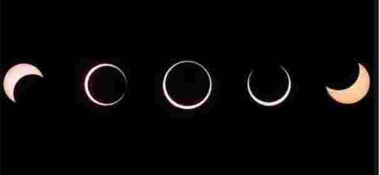 Solar Eclipse 2019 Surya Grahanam 5 Types