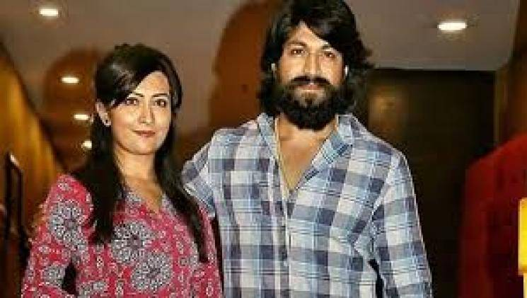 Actor Yash-Radhika couple selected as Advertising ambassadors for marriage proposal