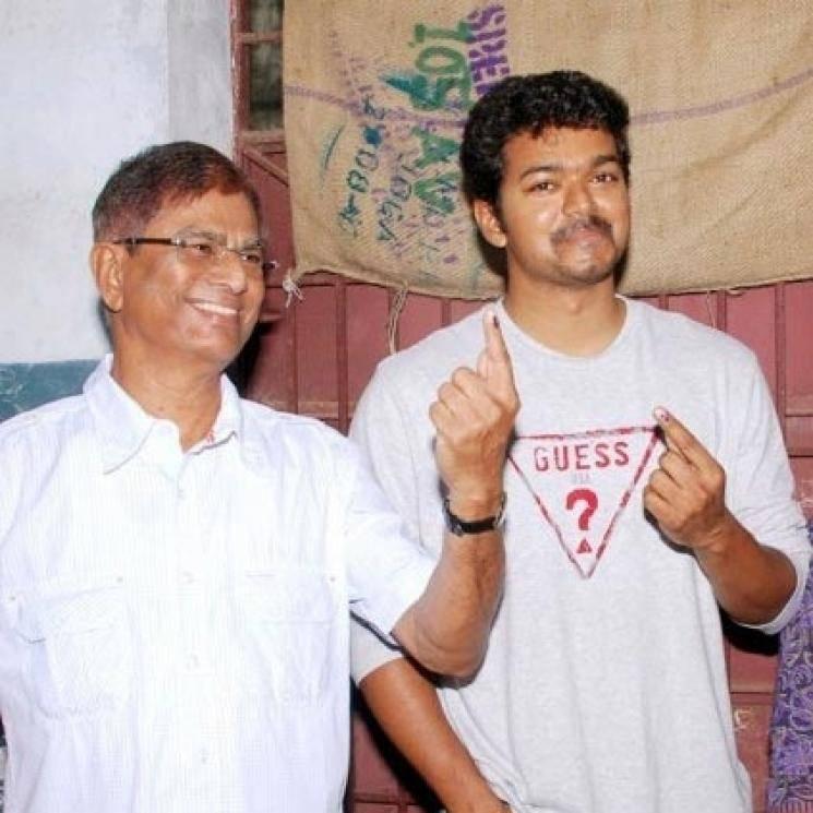 Actor Vijay father SA Chandrashekaran local body elections 2019 ADMK
