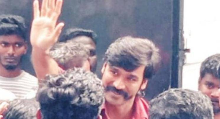 d40 dhanush karthik subbaraj movie shooting wrapped Aishwarya Lekshmi